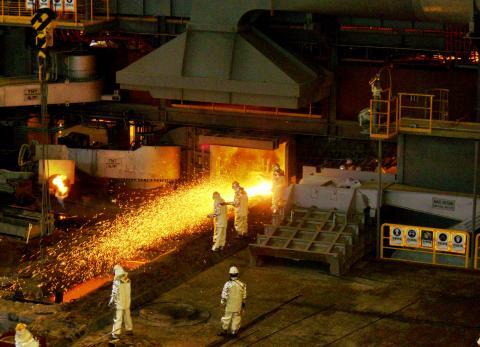 Trung Quốc: Sản lượng thép thô năm 2020 tăng 7% lên 1.06 tỷ tấn