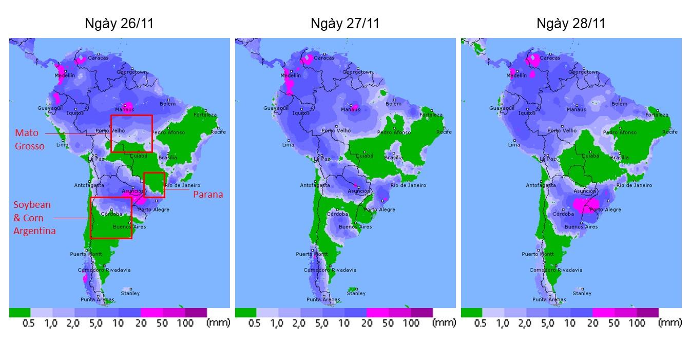 [thời tiết] miền nam brazil sẽ…