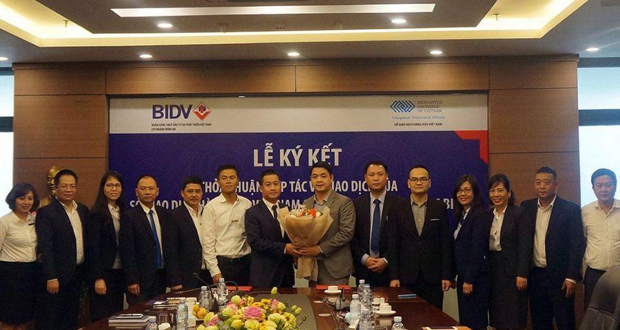 BIDV ký thỏa thuận hợp tác toàn diện: BIDV là Ngân hàng thanh toán cho Sở giao dịch hàng hóa Việt Nam