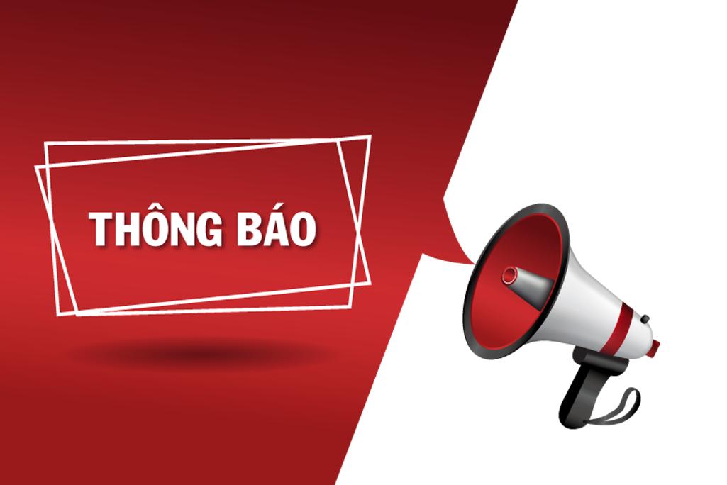 Thông báo lịch nghỉ giao dịch các sản phẩm trên Sở Giao dịch Hàng hóa Việt Nam