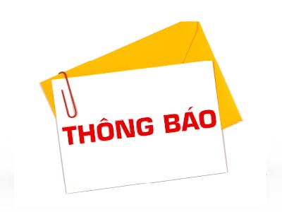 Thông báo lịch nghỉ giao dịch các sản phẩm trên Sở Giao dịch Hàng hóa Việt Nam vào ngày 18/01/2021