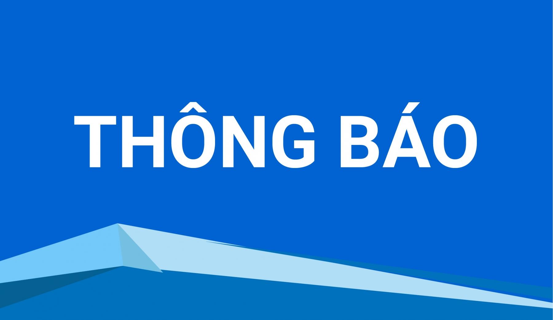 V/v: Thông báo lịch nghỉ giao dịch các sản phẩm trên Sở Giao dịch Hàng hóa Việt Nam