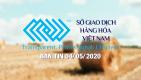 Bản tin 04/05/2020: căng thẳng thương mại mỹ - trung khiến giá nông sản đồng loạt giảm điểm